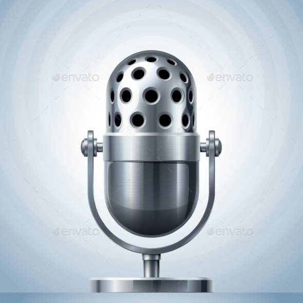 GraphicRiver Microphone 9351800