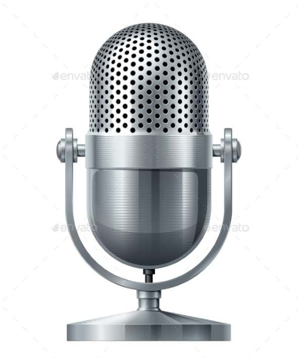 GraphicRiver Microphone 9351802