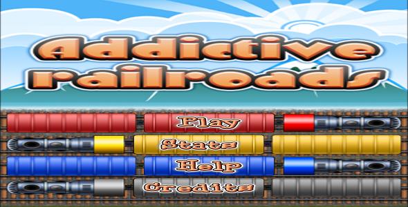 CodeCanyon Addictive Railroads With AdMob 9325228