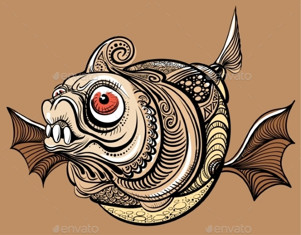 GraphicRiver Fish 9352107