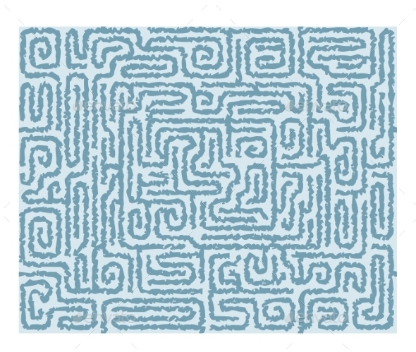 GraphicRiver Seamless Labyrinth Background 9352117