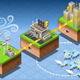 Isometric Infographic Energy Harvesting Diagram - GraphicRiver Item for Sale