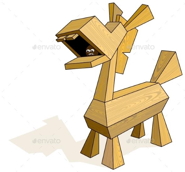 GraphicRiver Trojan Horse 9352131