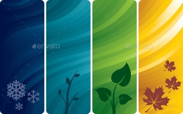 GraphicRiver Four Abstract Backgrounds 9352145