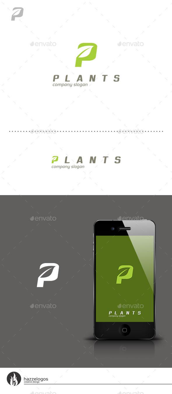 GraphicRiver Plants Logo 9352188