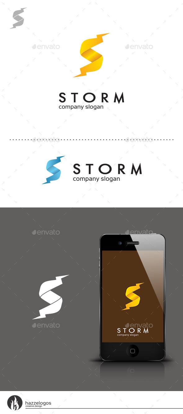 GraphicRiver Storm Logo 9352284
