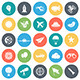 Aviation Round Vector Icons - GraphicRiver Item for Sale