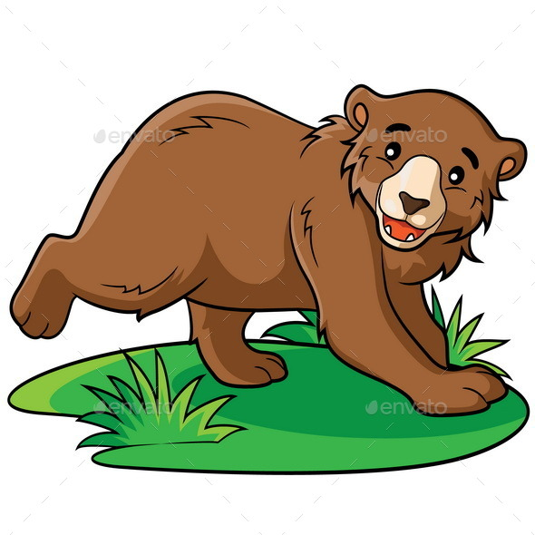 GraphicRiver Bear Cartoon 9352408