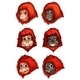 Heads of Chimpanzees - GraphicRiver Item for Sale