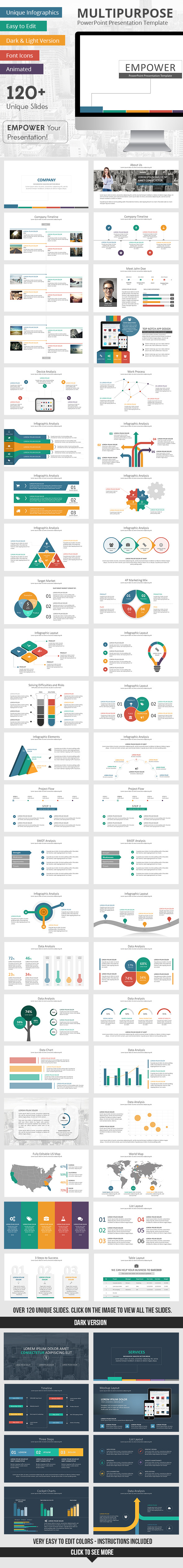GraphicRiver Empower PowerPoint Presentation Template 9344672