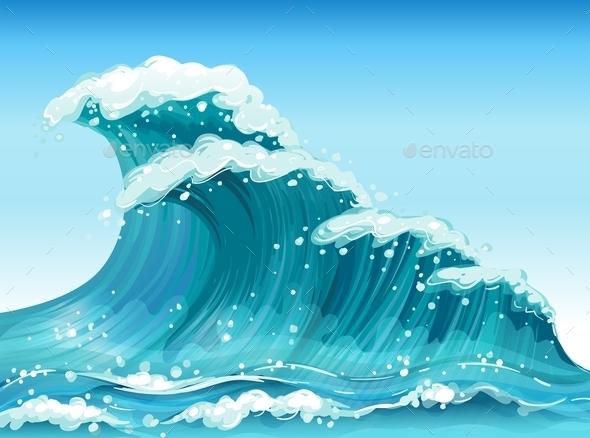 GraphicRiver Big Waves 9353170
