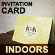 Invitation Card Mockup Indoor Series - GraphicRiver Item for Sale