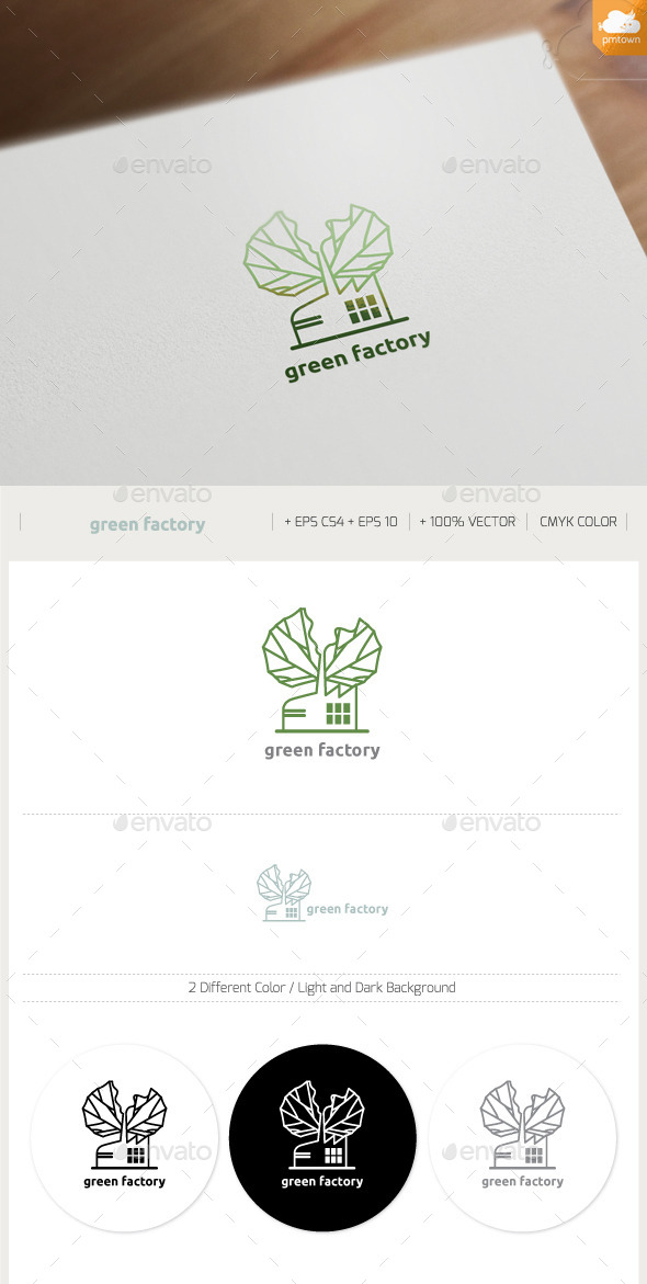 GraphicRiver Green Factory 9353258