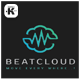Beat Cloud Logo - GraphicRiver Item for Sale