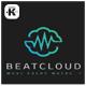 Beat Cloud Logo - GraphicRiver Item for Sale