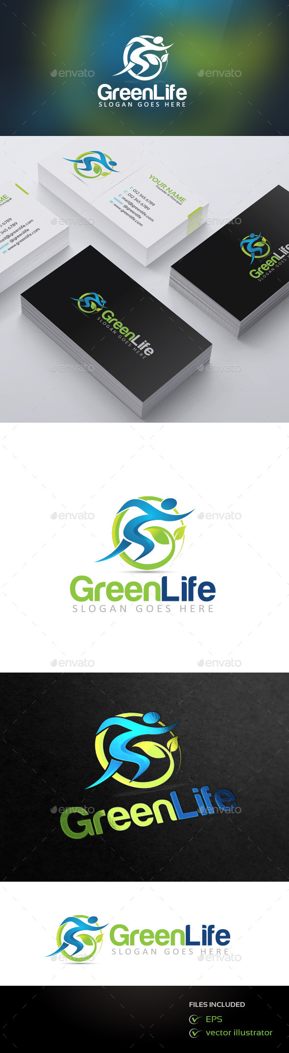 GraphicRiver GreenLife 9258754