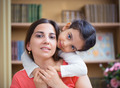 Hispanic mother and little daughter - PhotoDune Item for Sale