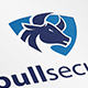 Bull Security Logo - GraphicRiver Item for Sale