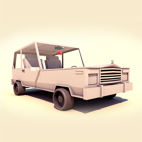 3DOcean Cartoon Car 9354806