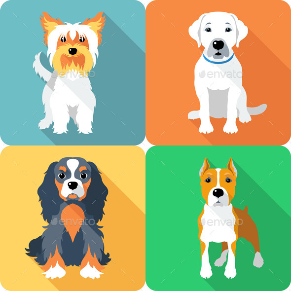 GraphicRiver Dog Icons 9355205