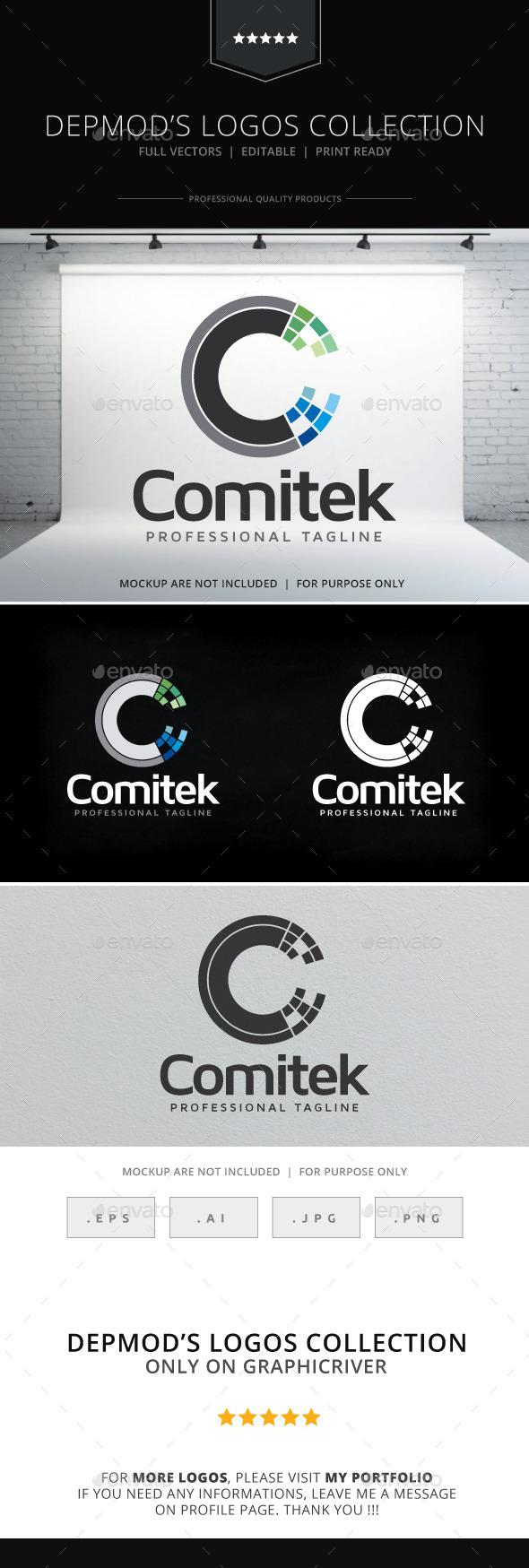 GraphicRiver Comitek Logo 9355273