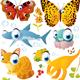 Vector Cartoon Animals Set  - GraphicRiver Item for Sale
