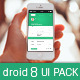Droid8 Flat Mobile UI Pack - GraphicRiver Item for Sale