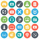 Music and Multimedia Icons - GraphicRiver Item for Sale