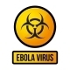 Ebola Yellow Danger Sign. Vector - GraphicRiver Item for Sale