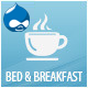 Bed&Breakfast Responsive Single Page Drupal theme - Travel Retail