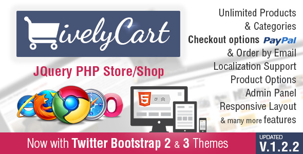 LivelyCart - a JQuery PHP Store / Shop - CodeCanyon Item for Sale