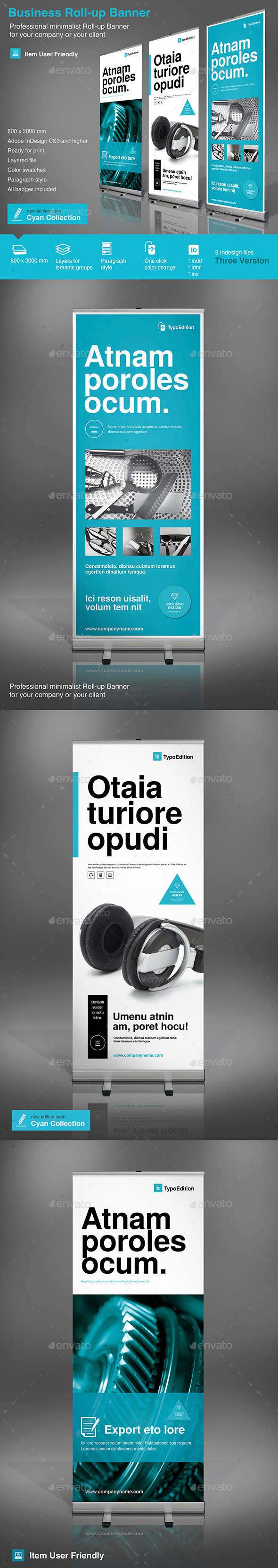 GraphicRiver Roll-up Business 9356036