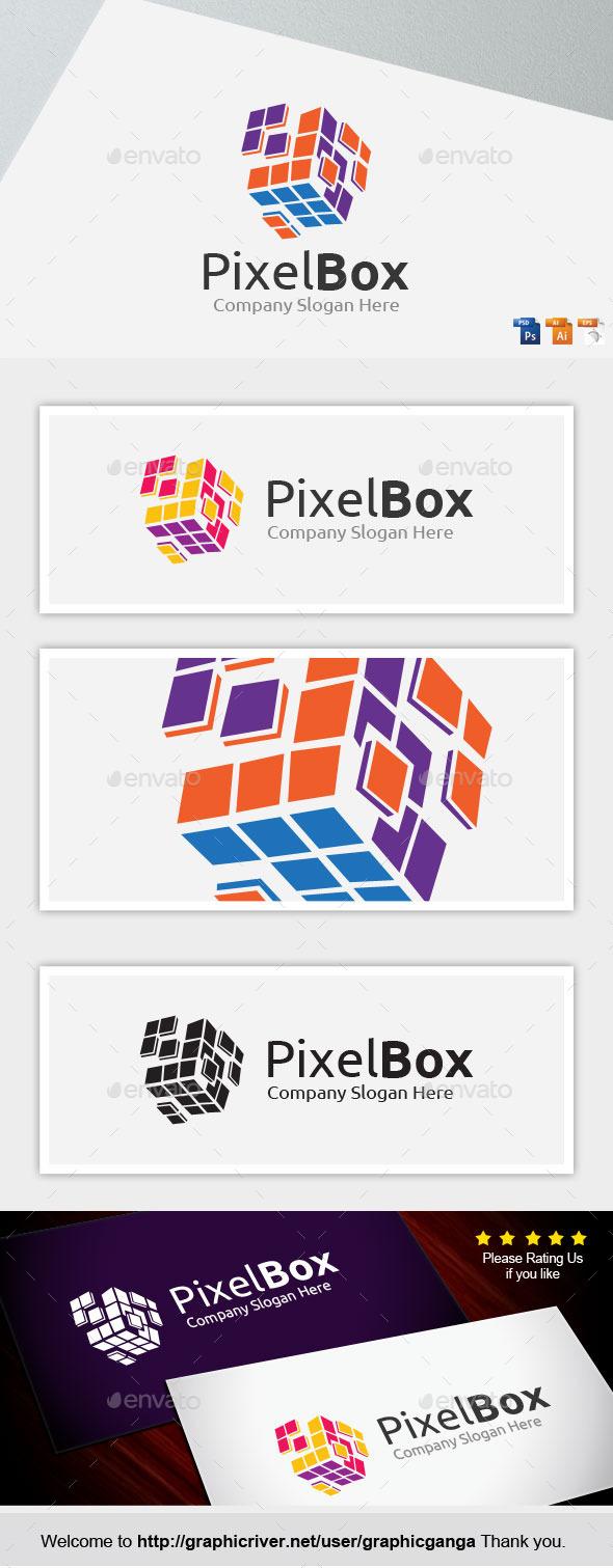 GraphicRiver Pixel Box 9356485