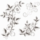 Vector Retro Floral Background with Flowers - GraphicRiver Item for Sale