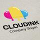 Cloud Ink Logo - GraphicRiver Item for Sale