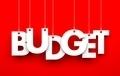 Budget. Word on strings - PhotoDune Item for Sale