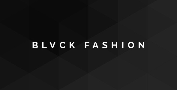 ThemeForest Blvck Fashion Store PSD 9244765
