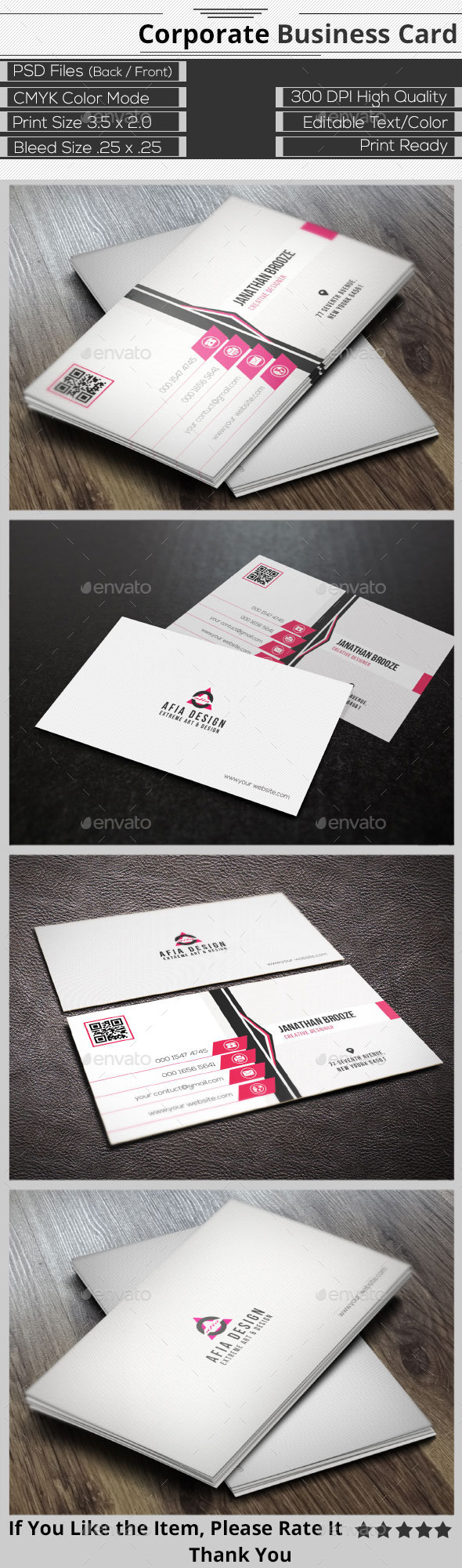 GraphicRiver Elegant Corporate Business Card 9357167