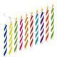 Set of Birthday Multicolored Candles - GraphicRiver Item for Sale