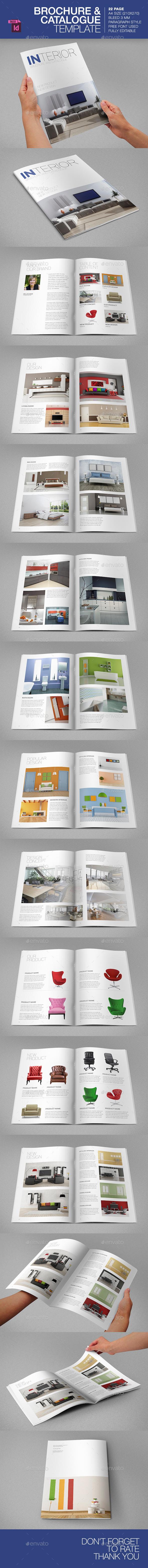 GraphicRiver Brochure Catalogue Template 9357459