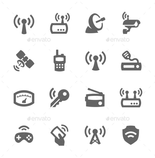GraphicRiver Radio Icons 9357536