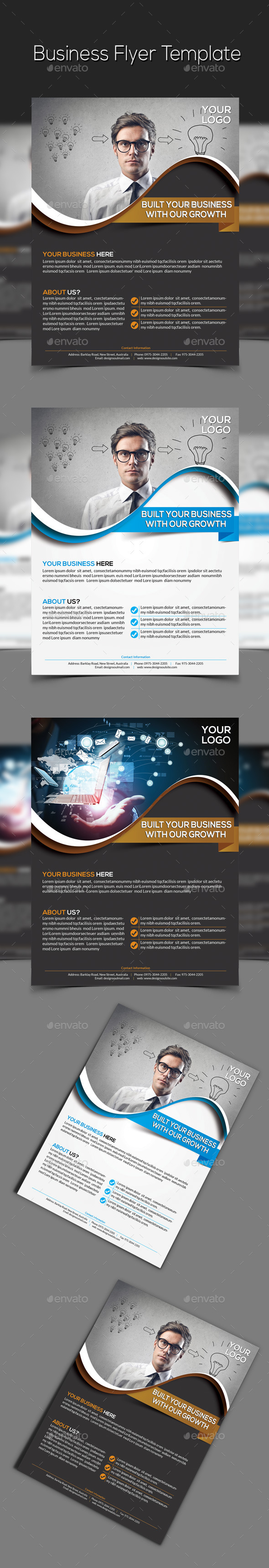 GraphicRiver Corporate Business Flyer 9357566