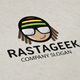 Rasta Geek Logo - GraphicRiver Item for Sale
