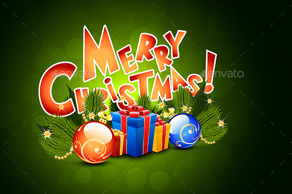 GraphicRiver Merry Christmas Greeting Card 9357955