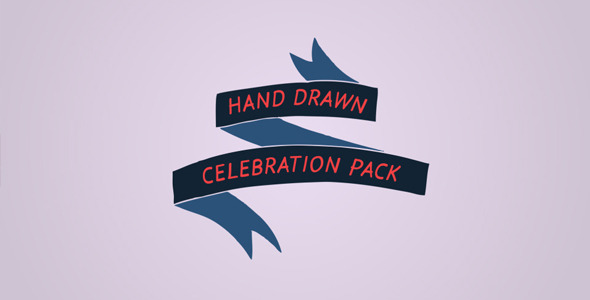 Hand Drawn Celebration Pack