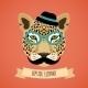 Animal Hipster Portrait - GraphicRiver Item for Sale