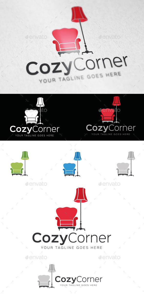 GraphicRiver Cozy Corner Logo Template 9358505