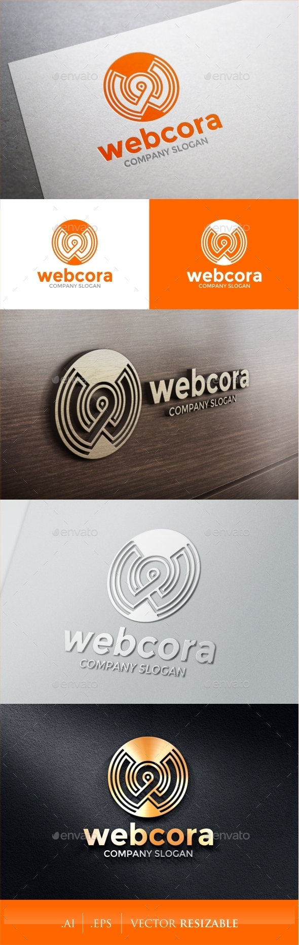 GraphicRiver W Letter Logo 9358525