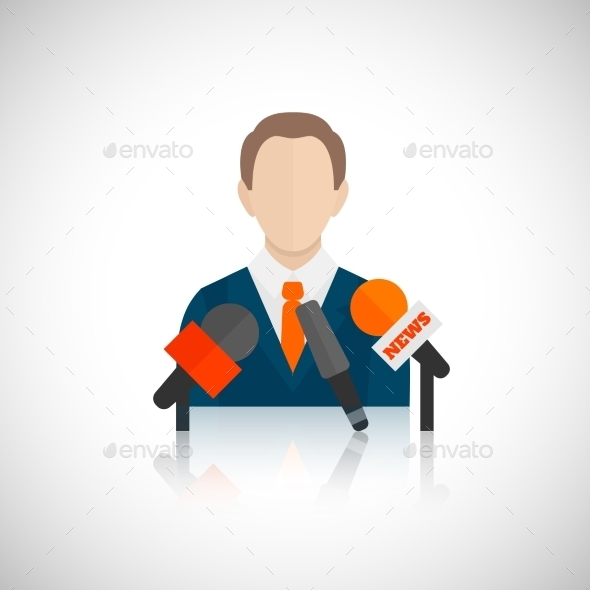 GraphicRiver Public Speaking Icons 9358528