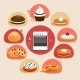 Cookies Decorative Set - GraphicRiver Item for Sale
